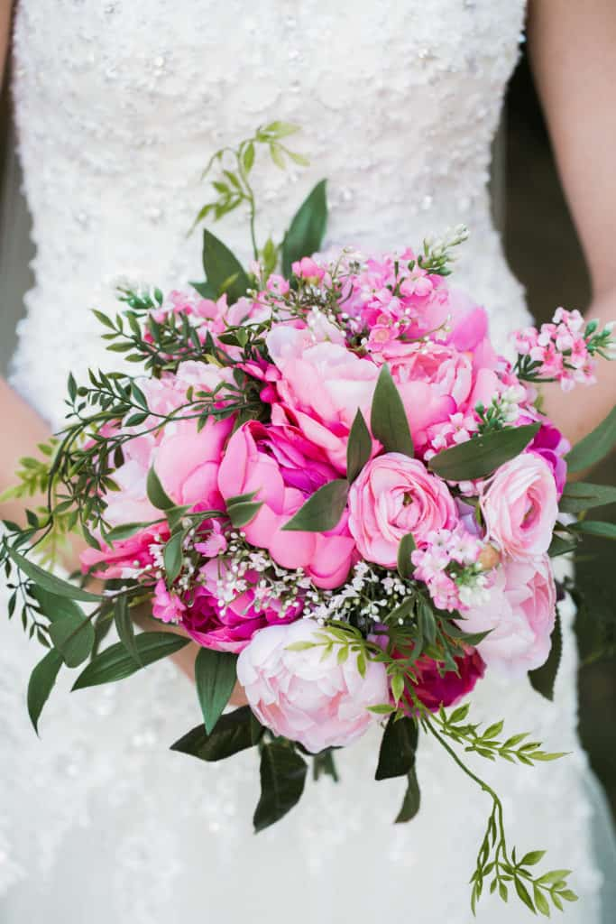 Young & Merri | What We Learned After 2 Months of Marriage | Pink Floral Bouquet