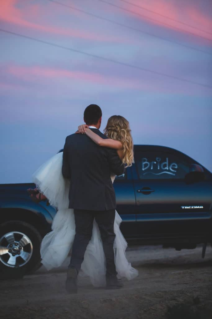 Young & Merri | What We Learned After 2 Months of Marriage | Bride & Groom Sunset Pictures