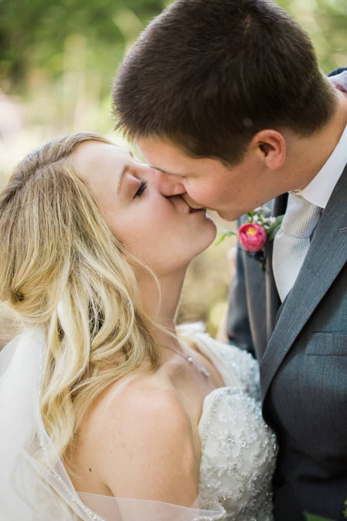 Young & Merri | What We Learned After 2 Months of Marriage | Bride and Groom Kiss