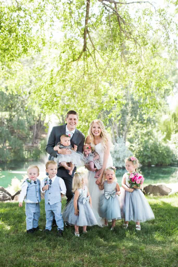 Young & Merri | What We Learned After 2 Months of Marriage | Flower Girls and Ring Bearers