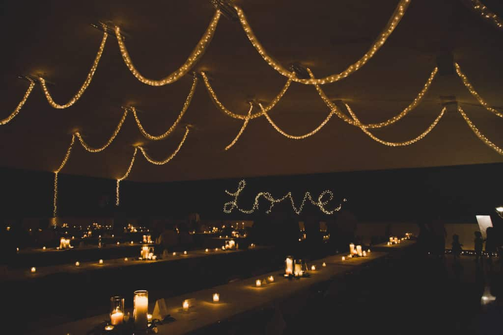 Young & Merri | What We Learned After 2 Months of Marriage | Candlelit Reception Hall