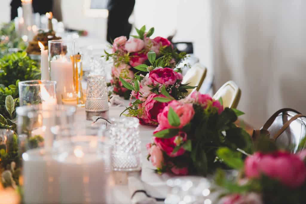 Young & Merri | What We Learned After 2 Months of Marriage | Reception Head Table Details